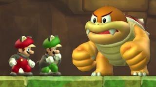 getlinkyoutube.com-New Super Mario Bros. U - All Tower Levels (2 Player)