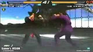 getlinkyoutube.com-TEKKEN 6 - Kazuya (Main Street Ryu the 2nd) vs Feng (Taizo)1