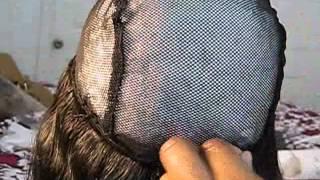 getlinkyoutube.com-How to Make a U-part wig| SIDE PART