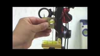 getlinkyoutube.com-T.R.U. BALL ARCHERY - Leveling AXCEL Achieve or AX Series Sight
