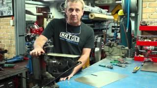 getlinkyoutube.com-Hand Cutting Sheet Metal Tutorial
