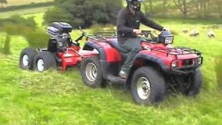 Quad-X ATV Rush Power Shredder