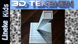 getlinkyoutube.com-Hoe teken je een Toren / 3D tekenen / #8
