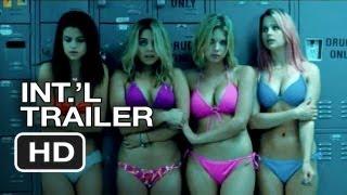 getlinkyoutube.com-Spring Breakers Official International Trailer #1 (2013) - James Franco Movie HD