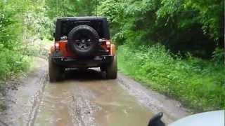 getlinkyoutube.com-Jeep Wrangler Offroad - JKFreaks.com June 2012