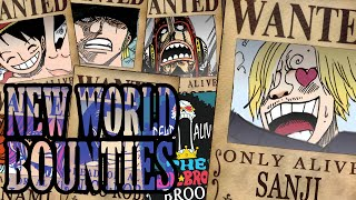getlinkyoutube.com-NEW BOUNTIES STRAWHAT PIRATES + NEW POSTERS (CHAPTER 801+)