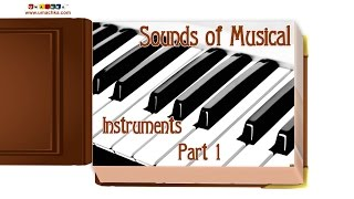 "getlinkyoutube.com-Educational Flashcards: Children's Early Learning ""Sounds of Musical Instruments Part 1"""