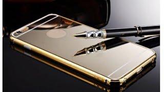 getlinkyoutube.com-iPhone 6 Plus: Sankuwen Ultra-thin Luxury Aluminum Metal Mirror Case