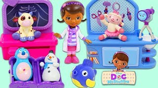 Disney Jr Friends Visit Doc McStuffins Toy Hospital for a Checkup! width=