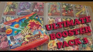 getlinkyoutube.com-Dragon Ball Heroes Ultimate Mission Booster Pack 3 HUM HUM3 Collection