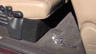 How to build a hidden compartment in your truck