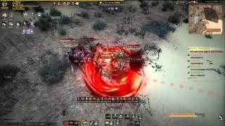 getlinkyoutube.com-黒い砂漠 black desert Warrior 57lv 大剣 ケンタウロス狩り