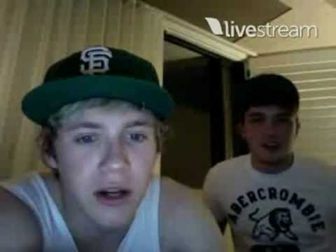 Niall Horan and Josh Devine Twitcam Monday 18 June 2012 pt 4
