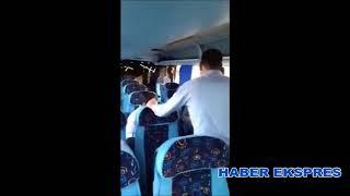 Otobüsün mazotu bitti, yolculardan istediler