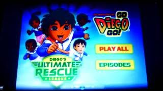 Go Diego Go!- Diego's Ultimate Rescue League