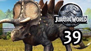 getlinkyoutube.com-Jurassic World: The Game - Stegoceratops & Event! Legendary Pack! [Episode 39]
