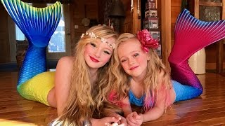 getlinkyoutube.com-The legend of the Magic Mermaid. Princess Ella and playdoh girl make a wish and become real mermaids