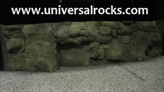 """UNIVERSAL ROCKS"" 240 GALLON AFRICAN CICHLID TANK OVERHAUL Presented by KGTropicals"