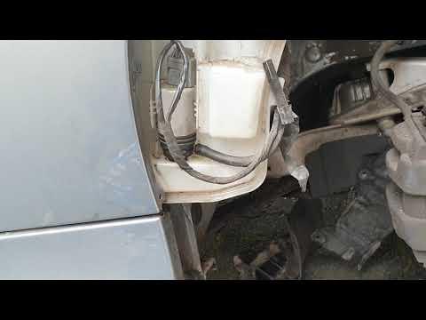 Утечка жидкости стеклоомывателя BMW