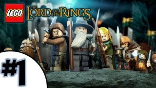 getlinkyoutube.com-LEGO Lord of The Rings - Lego Brick Adventures Episode 1 (HD) (Gameplay)