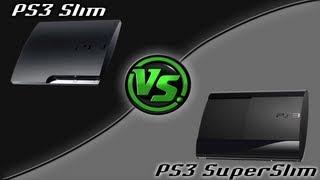 getlinkyoutube.com-PS3 Super Slim vs PS3 Slim