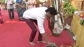 Sushanth New Movie Opening    Naga Chaitanya, Akhil, Sumanth & Nagarjuna