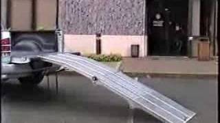 getlinkyoutube.com-Portable loading ramp demo