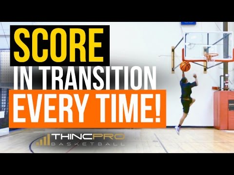 How To: Score in Transition EVERY TIME and FINISH at The Rim! - Basketball Finishing Moves to Score
