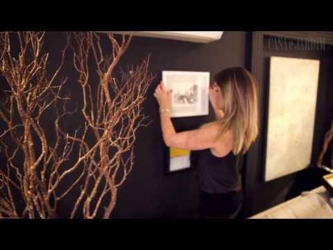 Como criar uma parede cheia de quadros