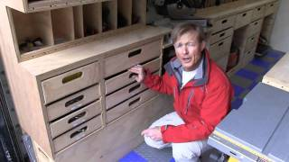 getlinkyoutube.com-Ron Paulk's Mobile Wood Shop