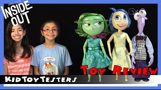 getlinkyoutube.com-Disney Pixar Inside Out Movie Delux Talking Disgust, Fear and Joy Toy Review