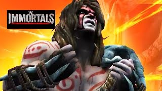 getlinkyoutube.com-WWE Immortals - Jungle - ULTIMATE WARRIOR Super Move Attacks [Android/iPad]
