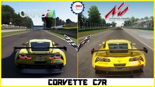getlinkyoutube.com-★ Assetto Corsa vs Project CARS - Corvette C7R at Monza