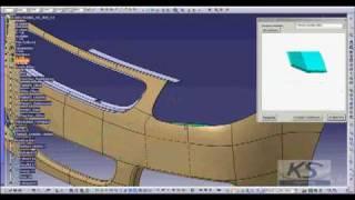 getlinkyoutube.com-CATIA V5 Concept Design - Front Bumper