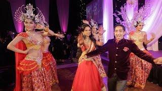 getlinkyoutube.com-Indian Wedding Reception Entrance Dance (London Thumakda)