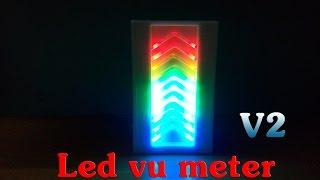 getlinkyoutube.com-How To Make Led Vu Meter - v2 - IC LM3915
