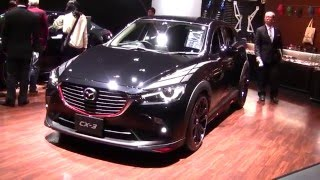 getlinkyoutube.com-Mazda CX-3 Racing Concept 2016 | Mazdas247