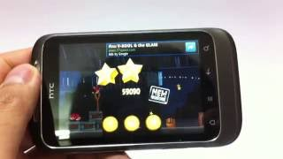 [krapalmBlog] Test the game on HTC Wildfire S