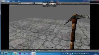 getlinkyoutube.com-Создание игры от первого лица в Blender3D Часть 1