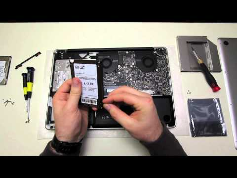 MacBook Pro SSD Upgrade (OCZ Vertex 3)