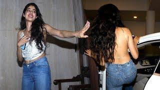 Sridevi's Daughter Jhanvi Kapoor's HOT Backless Dress