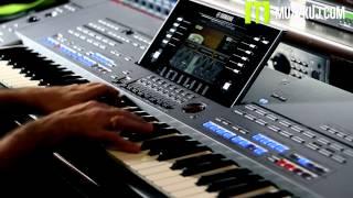 getlinkyoutube.com-Yamaha Tyros 5  Organ Hammond