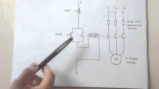 getlinkyoutube.com-How a 3 Phase Motor Control Circuit Works
