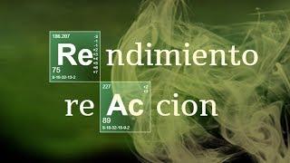 Imagen en miniatura para Rendimiento de una reacción química