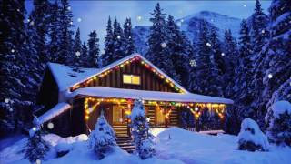 getlinkyoutube.com-Футаж Сказочный домик в новогоднем лесу