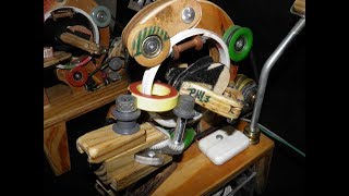 Toroidal Winder kit with downloadable part 4 winding two toroids!
