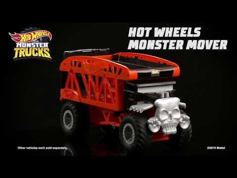 Hot Wheels Monster Trucks Monster Mover - Bone Shaker