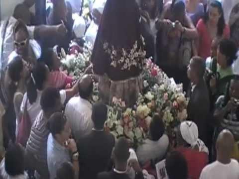 Início da Procissão de Nossa Senhora da Glória. Cachoeira -Ba