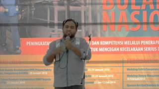Abd. Rauf - Winner Stand Up Comedy Perayaan Bulan K3 2016 - PT Vale Indonesia Tbk.