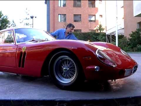 Man's Ferrari Stolen While He Washes It